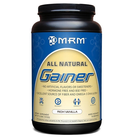 All Natural Rich Vanilla Weight Gainer (3.3 Lbs Tub)