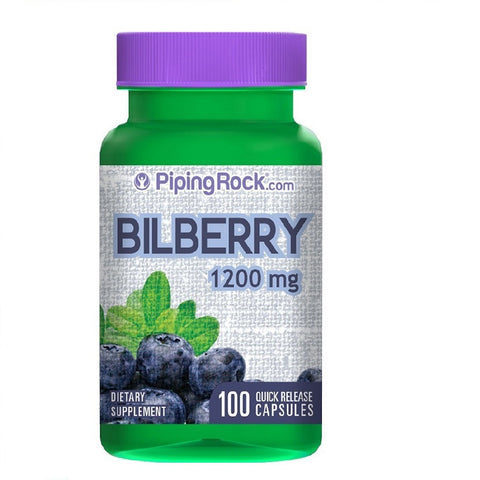 Bilberry Extract (1200 mg,100 Capsules)