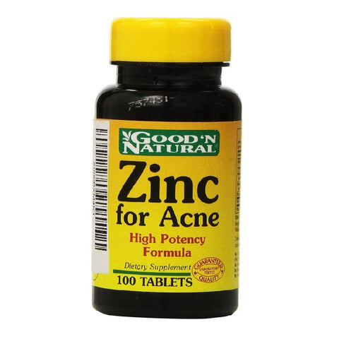 Zinc For Acne Treatment(100Capsules)  Expires April/18
