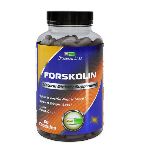 Forskolin Extract For Weight Loss(250mg,60 Capsules)