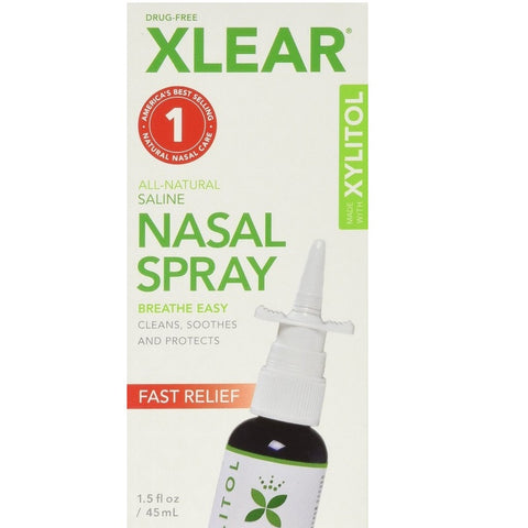 Xlear Sinus Allergy Nasal Spray (1.5 Fl Oz)