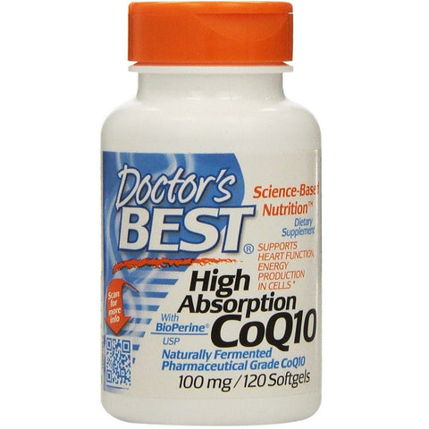 High Absorption Coq10 (100 mg,120 Softgels)