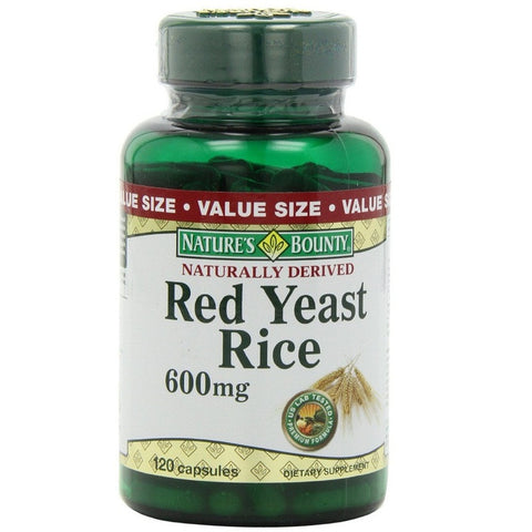 Red Yeast Rice (600mg,120 Capsules)