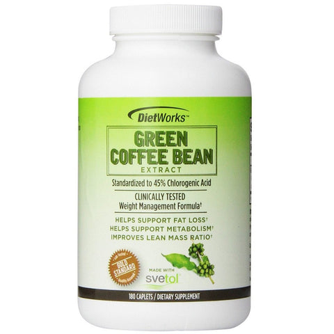 All Natural Green Coffee Bean Extract(180 Capsules)
