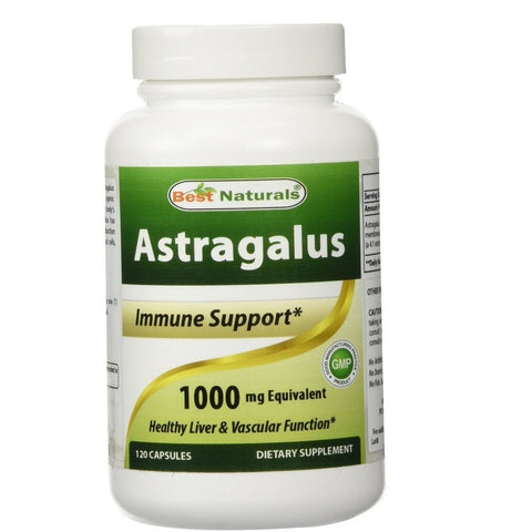 Astragalus Extract(1000mg,120 Capsules)