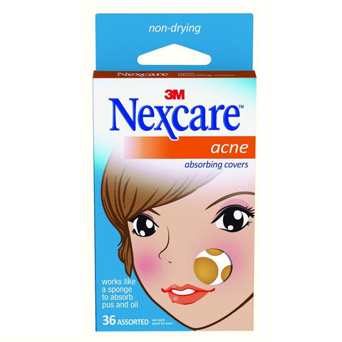 Nexcare Acne Absorbing Cover(36 Count)