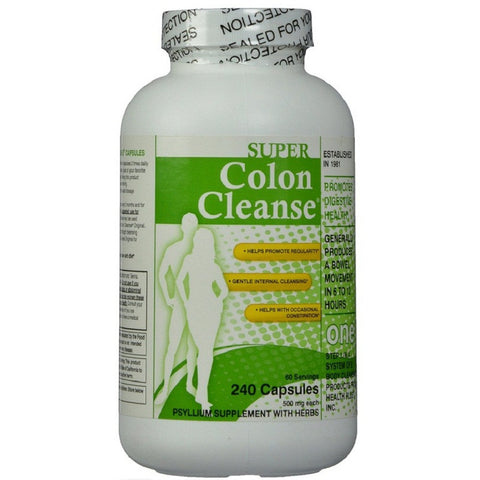 Super Colon Cleanse (500mg,240Capsules)