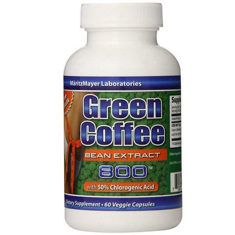 100% Weight Loss Green Coffee Bean Extract(800mg,60Capsules)