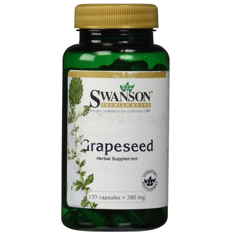 Grapeseed (380mg,100 Capsules)Expires 08/18