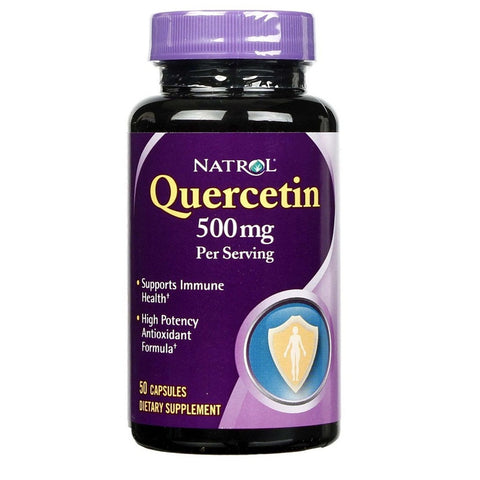 Quercetin(500mg Capsules,50 ct)Expires 10/18