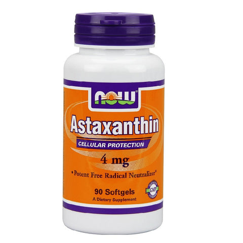 Astaxanthin Softgels(4mg,90 Count)