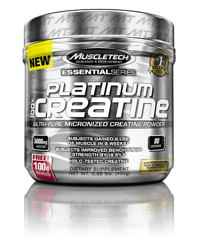 MuscleTech Platinum 100% Creatine Supplement(400g)