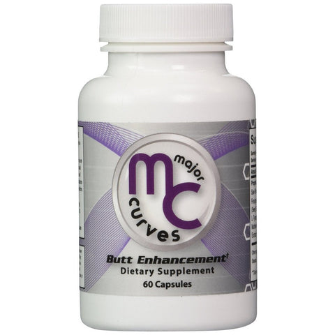 Major Curves Buttock Enlargement Pills(60 Capsules)