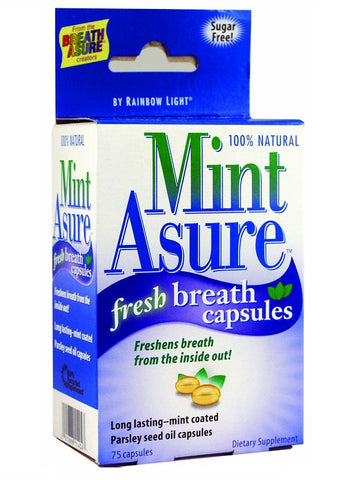 160 Capsules MintAsure Internal Breath Freshener