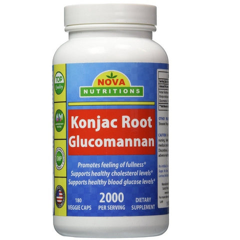 Konjac Root (2000mg,180 Capsule)Expires 10/18