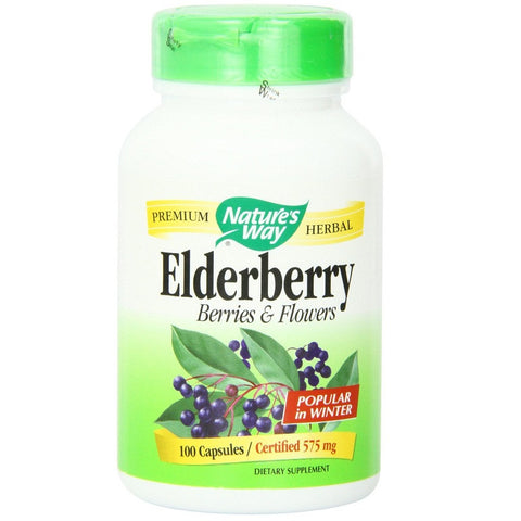 Elderberry Capsules(575 mg,100Capsules)