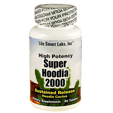 Hoodia Gordonii Capsule(2000mg,60Count)(Expires 03/2017)