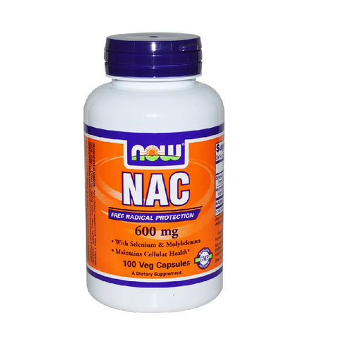Nac-Acetyl Cysteine (600mg,100 Capsules)