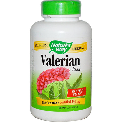 Valerian Root (530 mg,180 Caps)