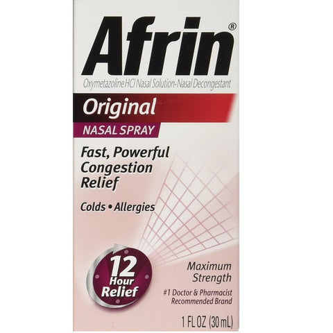 Afrin Nasal Spray & Congestion Relief(1 Fl Oz)