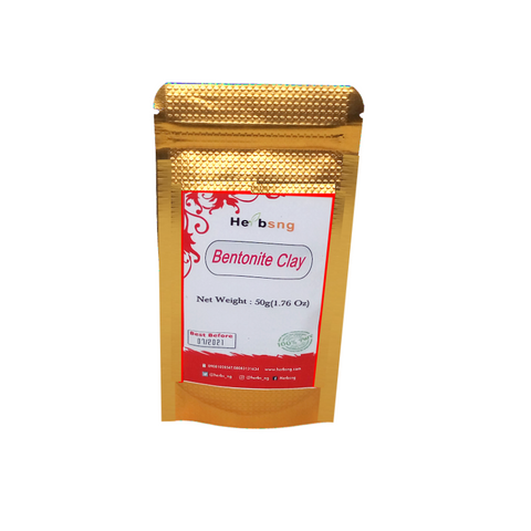 Bentonite Clay  Powder -50g