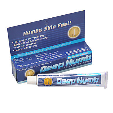 Numbing Cream For Body Tattooing,Piercing,Waxing