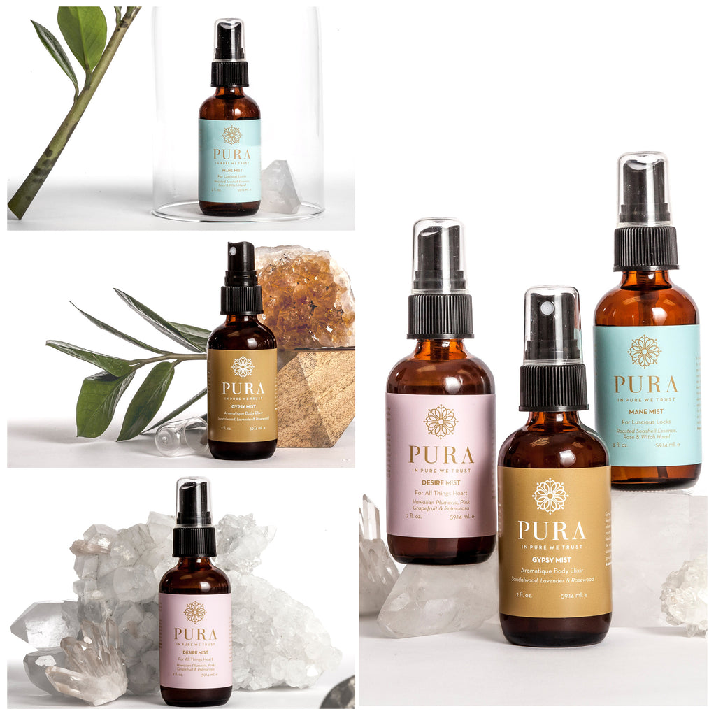 Pura's Botanical Mist Collection