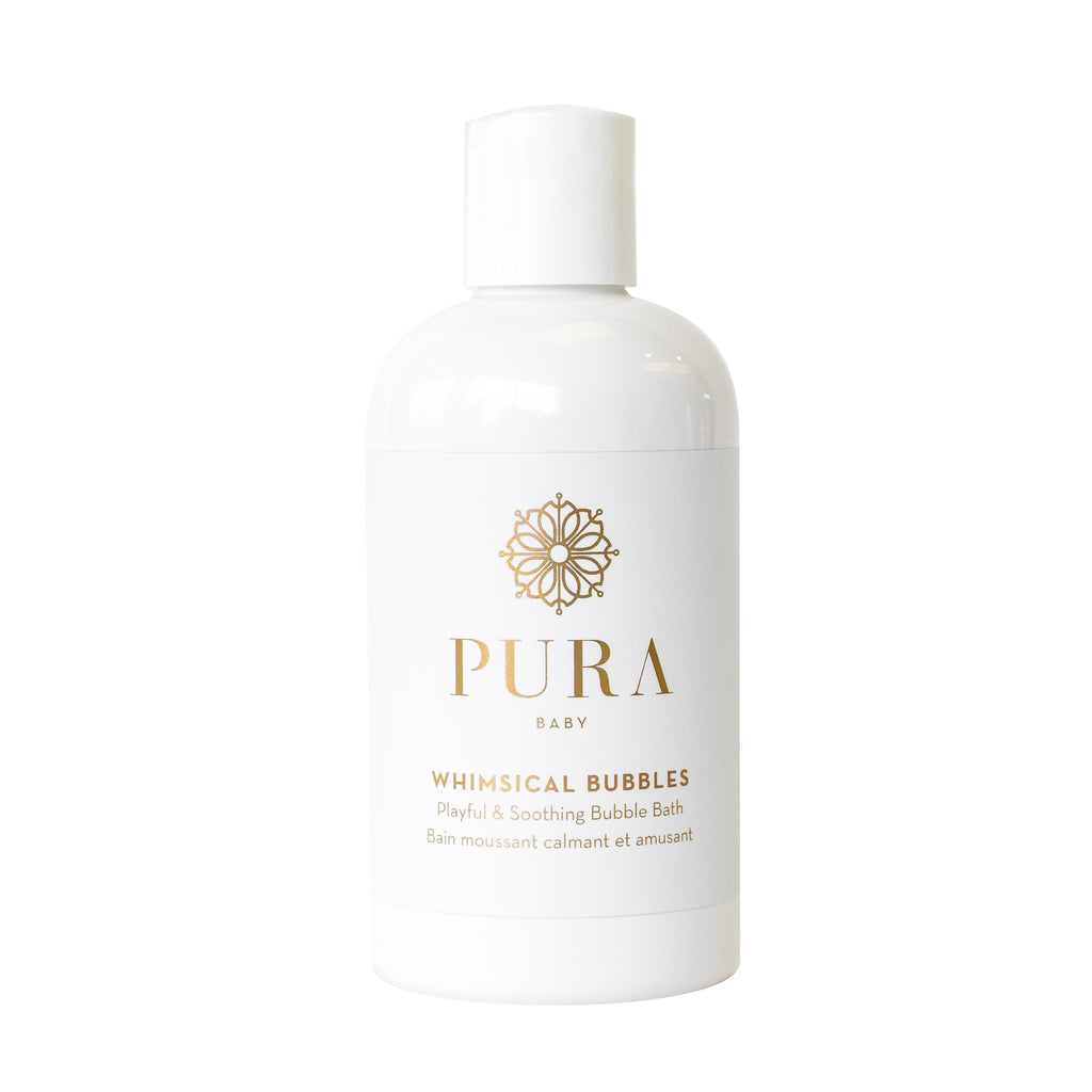 Whimsical Bubbles soothing bubble bath for babies, kids and mamas made by Pura Botanicals
