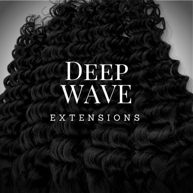 Brazilian Deep Wave Sew-In Extensions