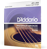 Daddario EJ26 Acoustic Guitar Strings