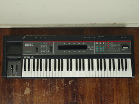Ensoniq SQ80 Vintage 1980's Synth