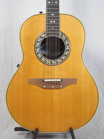 Ovation 12 String Acoustic Guitar 1988