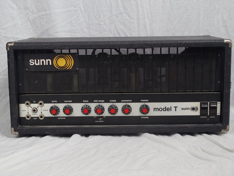 Sunn Model T 2nd Generation Head