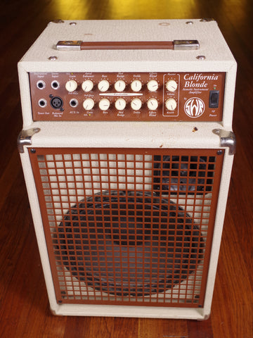 SWR California Blonde Acoustic Guitar or Bass Amp