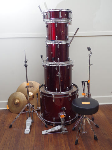 PDP Pacific Drums 5 Piece Drum Kit