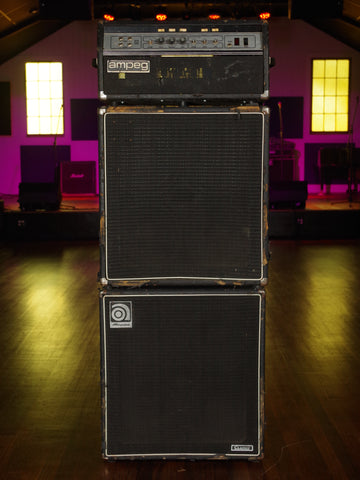 Vintage 70's Ampeg SVT Head with dual 4x10 Cabinets