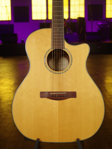 Fender GA-45SCE Natural Acoustic Electric