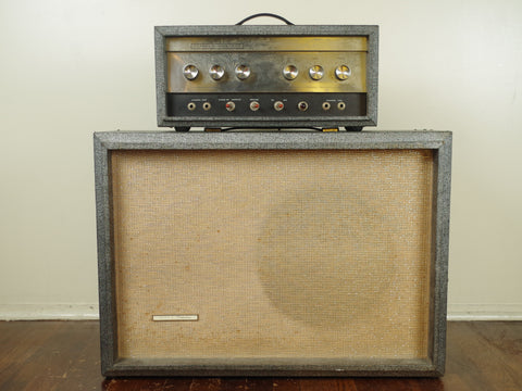 Silvertone 1483 Head with 1x15 Speaker Cab