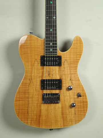 Fender Special Edition Custom Telecaster Spalted Maple HH