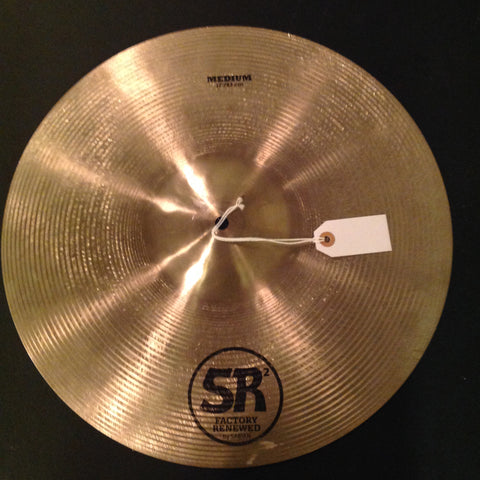 Sabian SR2 Factory Renewed Medium 17""