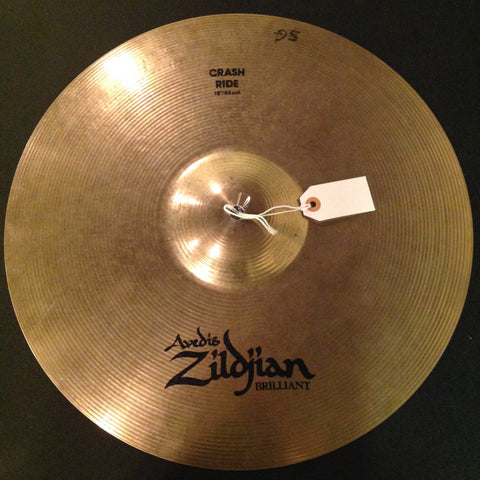 Zildjian Brilliant Crash Ride 18""