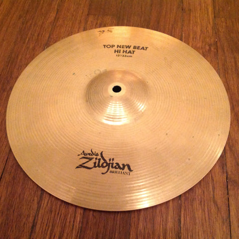 Zildjian Brilliant New Beat Hi-Hats 13""
