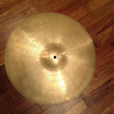 "Zildjian Hollow Logo 18"" Crash (70's-80's)"