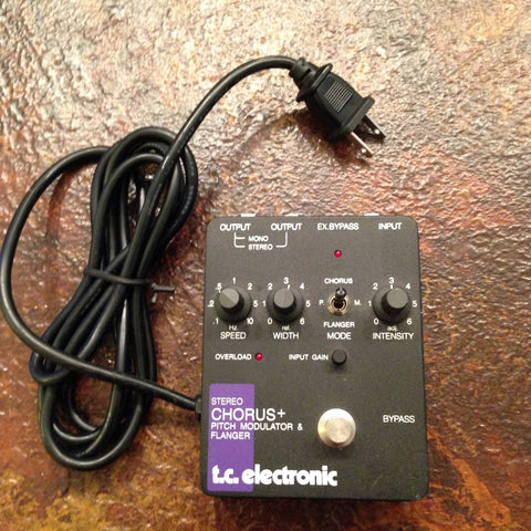 T.C. Electronics Stereo Chorus + Pitch Modulator & Flanger