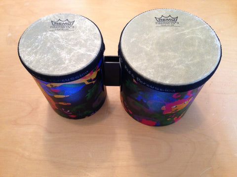 Remo Kids Percussion Bongo Set 5/6 Diameters