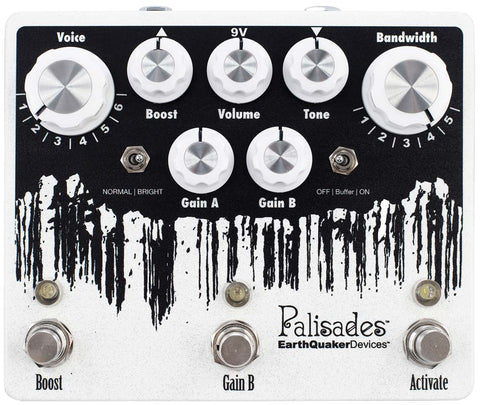 EarthQuaker Devices Palisades Mega Ultimate Maximum Overdrive v2