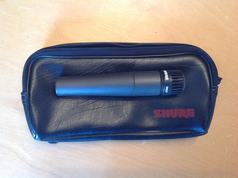 Shure SM57 Instrument/Vocal Mic W/Pouch