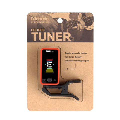 Daddario Eclipse Clip-On Tuner Red