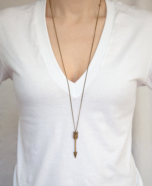 Broken Arrow Necklace