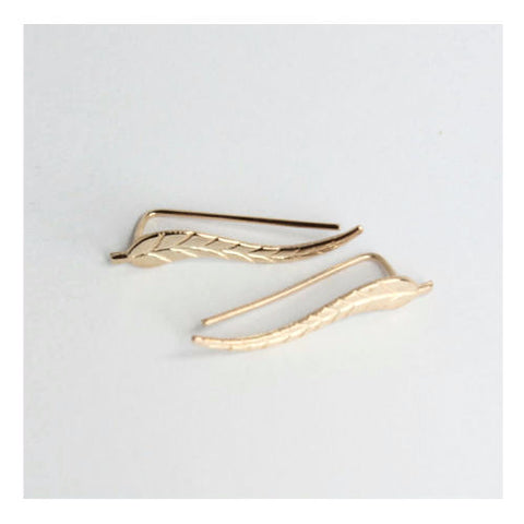 Elsie Vintage Quill Earrings